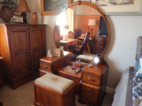 Hold for Natalie Vanada. Please do not purchase. PORTLAND OREGON  DOERNBECHER Antique Art Deco Bedroom Furniture - Hold For Natalie Vanada. Please Do Not Purchase. PORTLAND OREGON