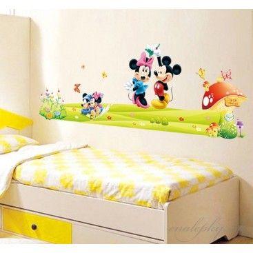 Nálepky na stenu - Mickey a Minnie | Nálepky na stenu | Pinterest