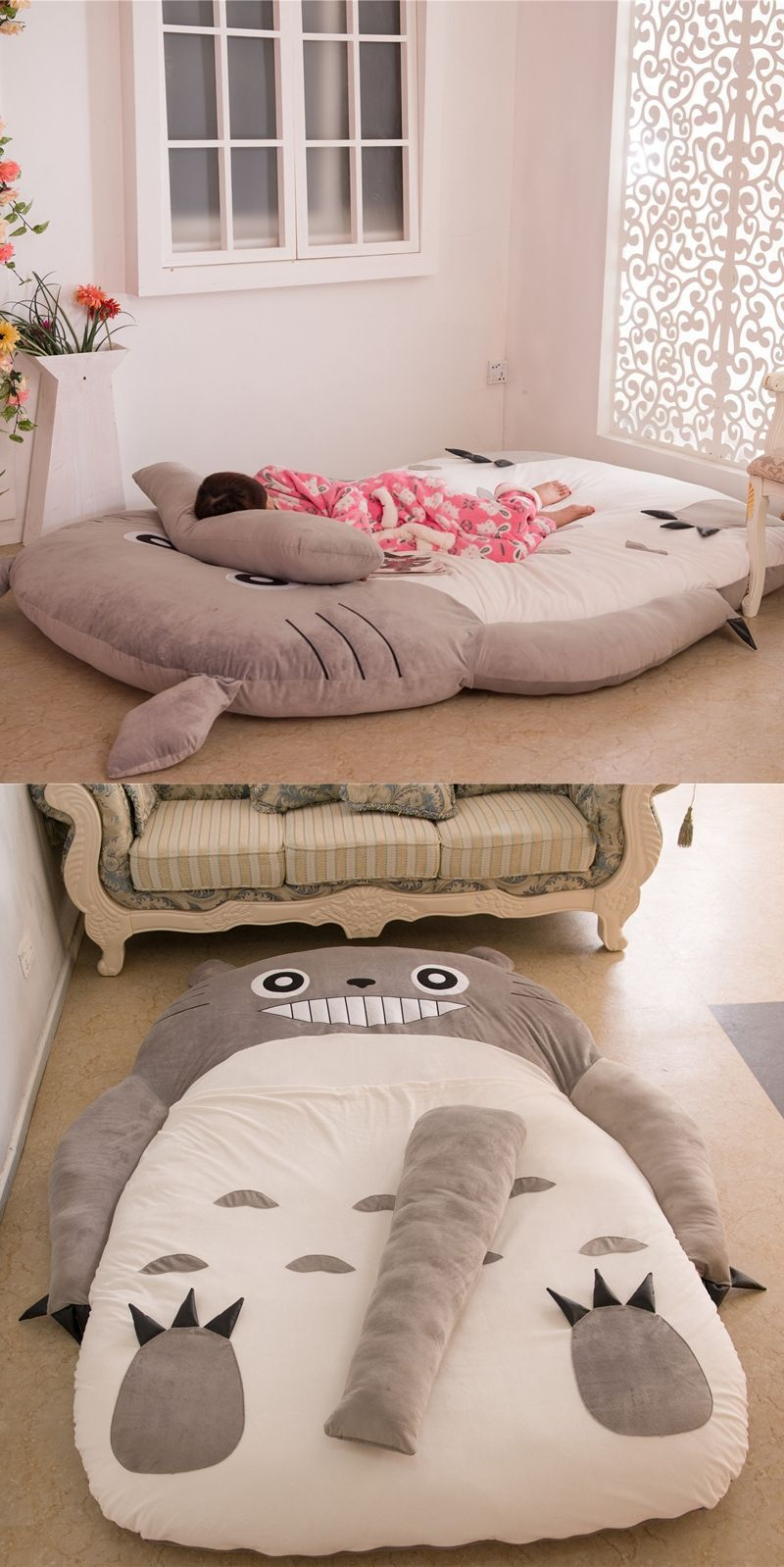 Best Baby Folding Sofa Bed Couch Totoro Mattress Couch Cute 400 x 300