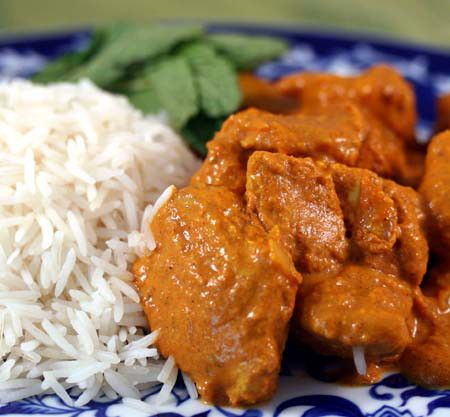 Tikka Masala with Basmati Rice This seems so difficult to make, it has so many ingredients!... But almost worth trying it because it looks so good!!