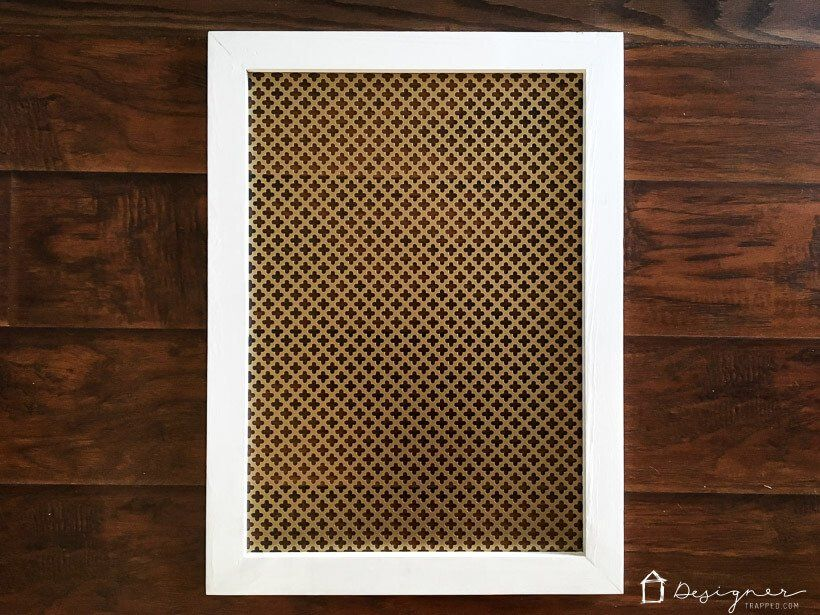 Diy Vent Cover It S Pretty And Easy Wall Vents Vent Covers