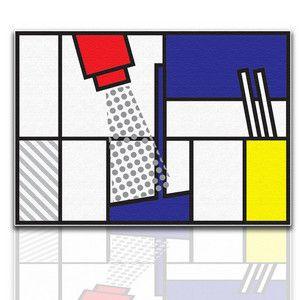 Quadro d'arredamento  http://www.crearti.eu/negozio/licht_cocktail_chez_mondrian/index.htm