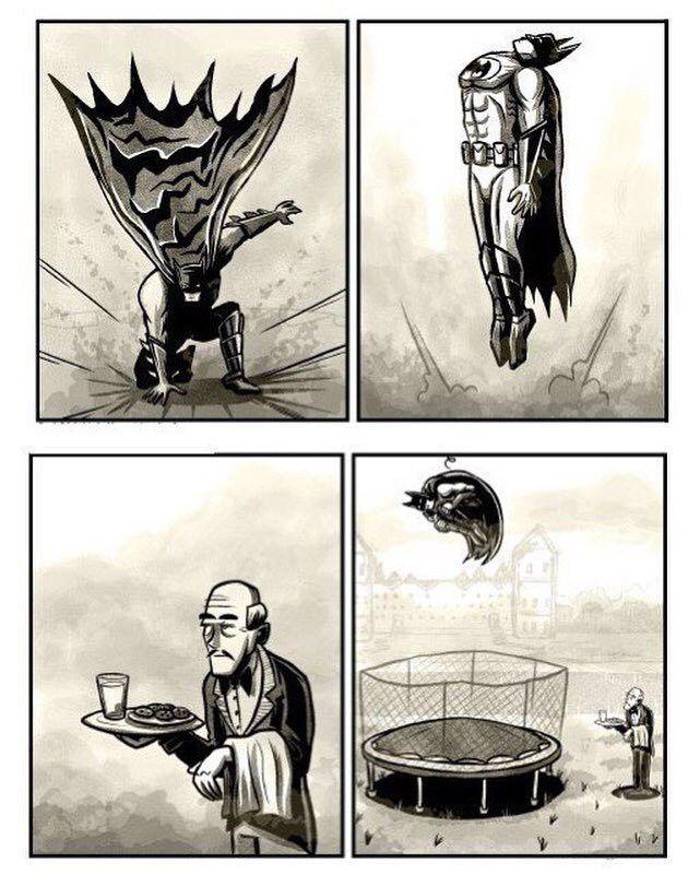 Batman and Alfred | Batman drôle, Images drôles, Batman