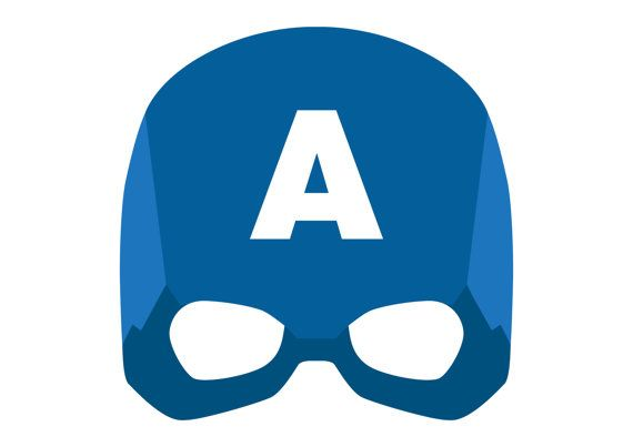 graphic about Captain America Mask Printable referred to as No dress? No challenge! Heres a printable Captain The us