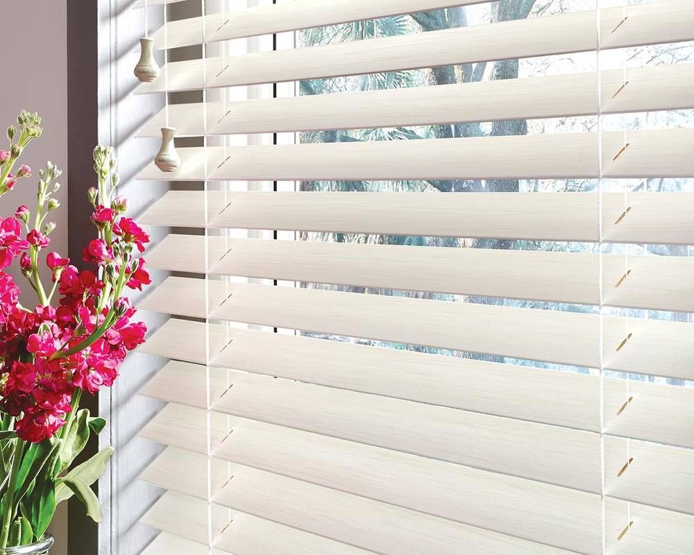 Real wood vs faux wood blinds - Hunter Douglas Parkland Wood Blinds By Danmer For Quality Window Treatments Hunter Douglas Parkland Real Wood Blinds Are Our Most Popular Window Covering