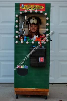 Coolest Homemade Claw Machine Costume 8