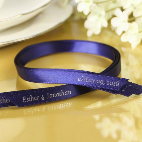 Personalized Favor Ribbon by Beau-coup