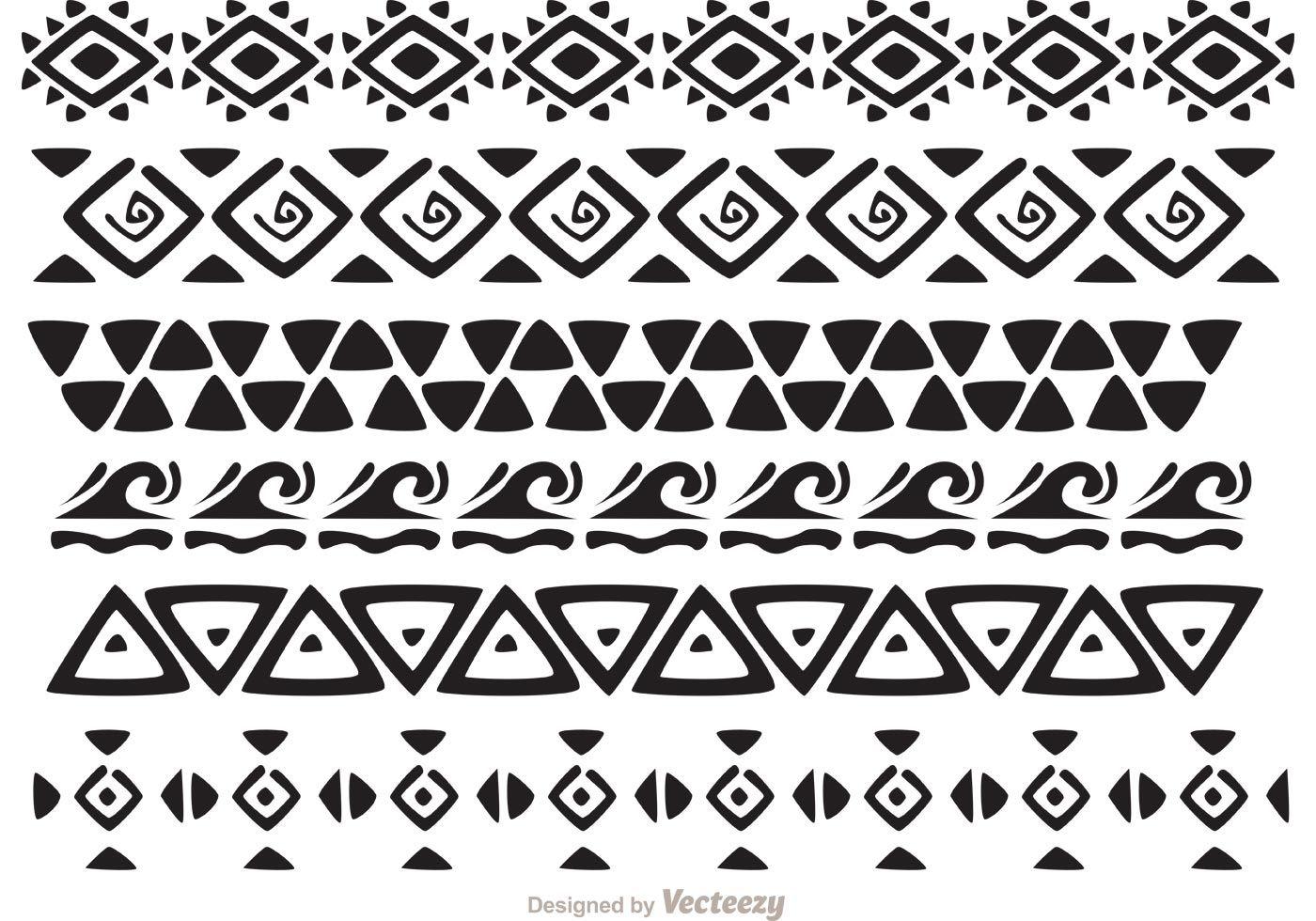 Hawaiian petroglyph symbols and meanings gallery symbol and sign hawaiian tribal pattern vectors pack 2 another awesome hawaiian hawaiian tribal pattern vectors pack 2 another biocorpaavc