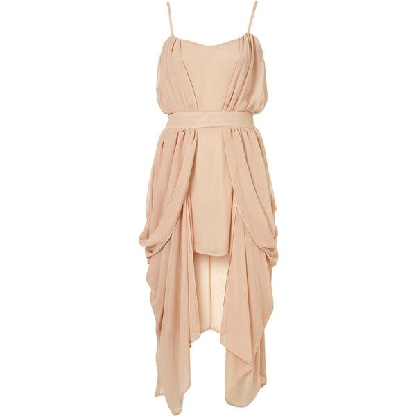Limited Edition Drape Side Dress** (€320) ❤ liked on Polyvore featuring dresses, vestidos, short dresses, vestiti, women, red cocktail dress, bodycon dress, short bodycon dresses, draped mini dress and red dress