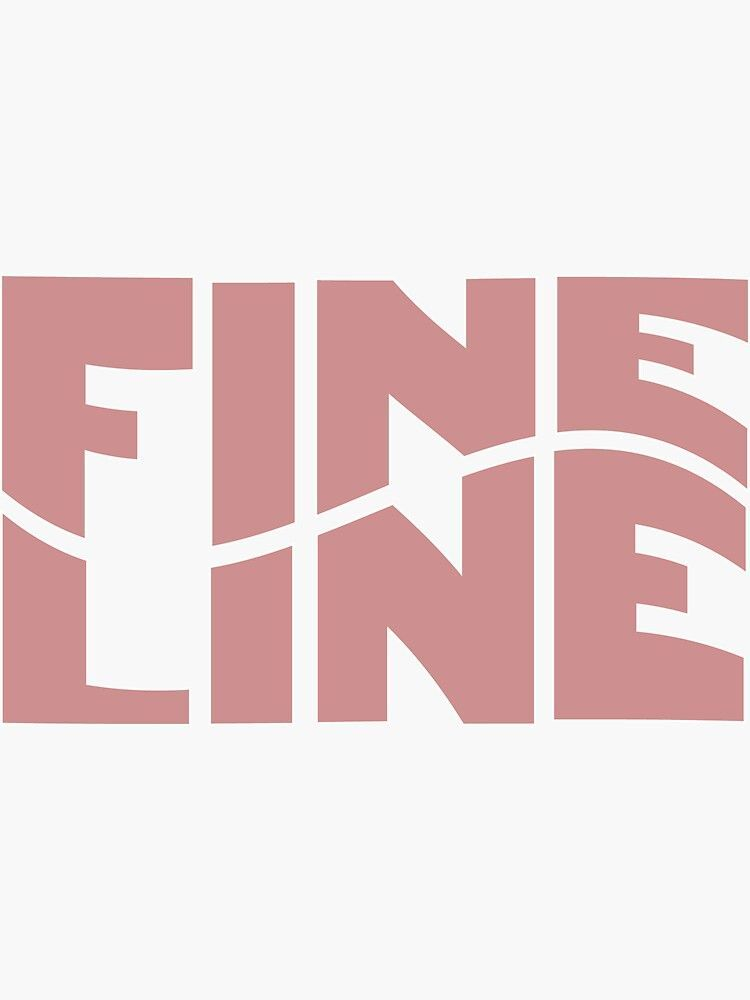 'Harry Styles Fine Line Wavy' Sticker by abbykolody