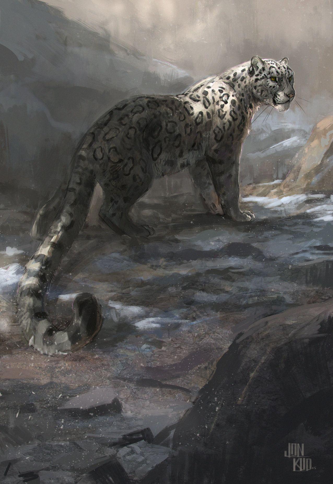 Smilodon Aka Sabertooth And By Jon Kuo On Artstation Big Cats