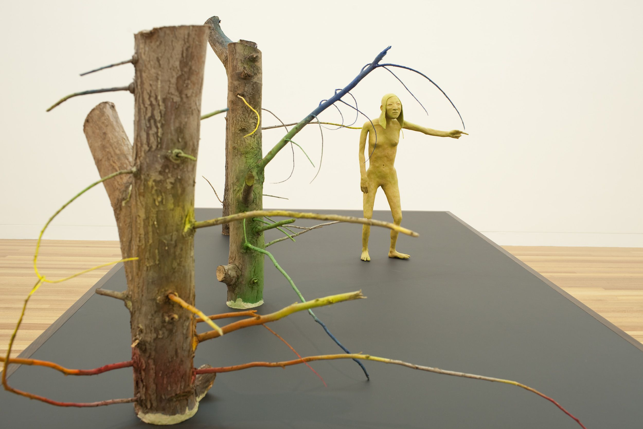 Francis upritchard figurative sculpture sculpture art