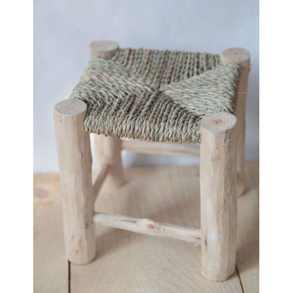 Mini tabouret en bois