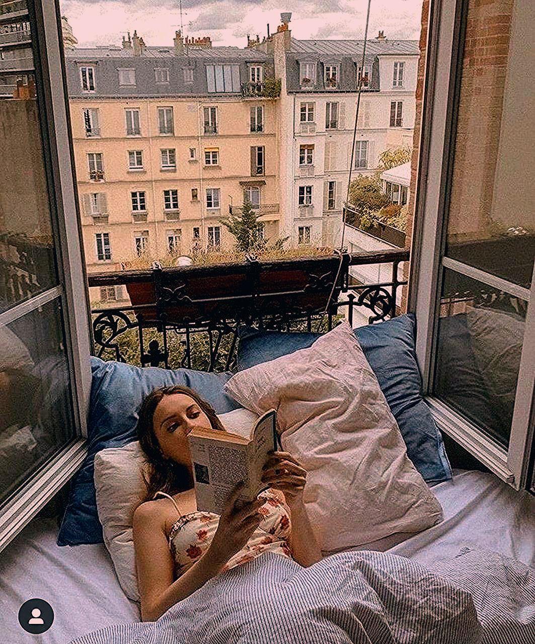 Mädchen, Liebe, hübsch, Buch, Herbst, Paris, gemütlich, Lesen, Mädchen girly Mädchen, Buch b ...