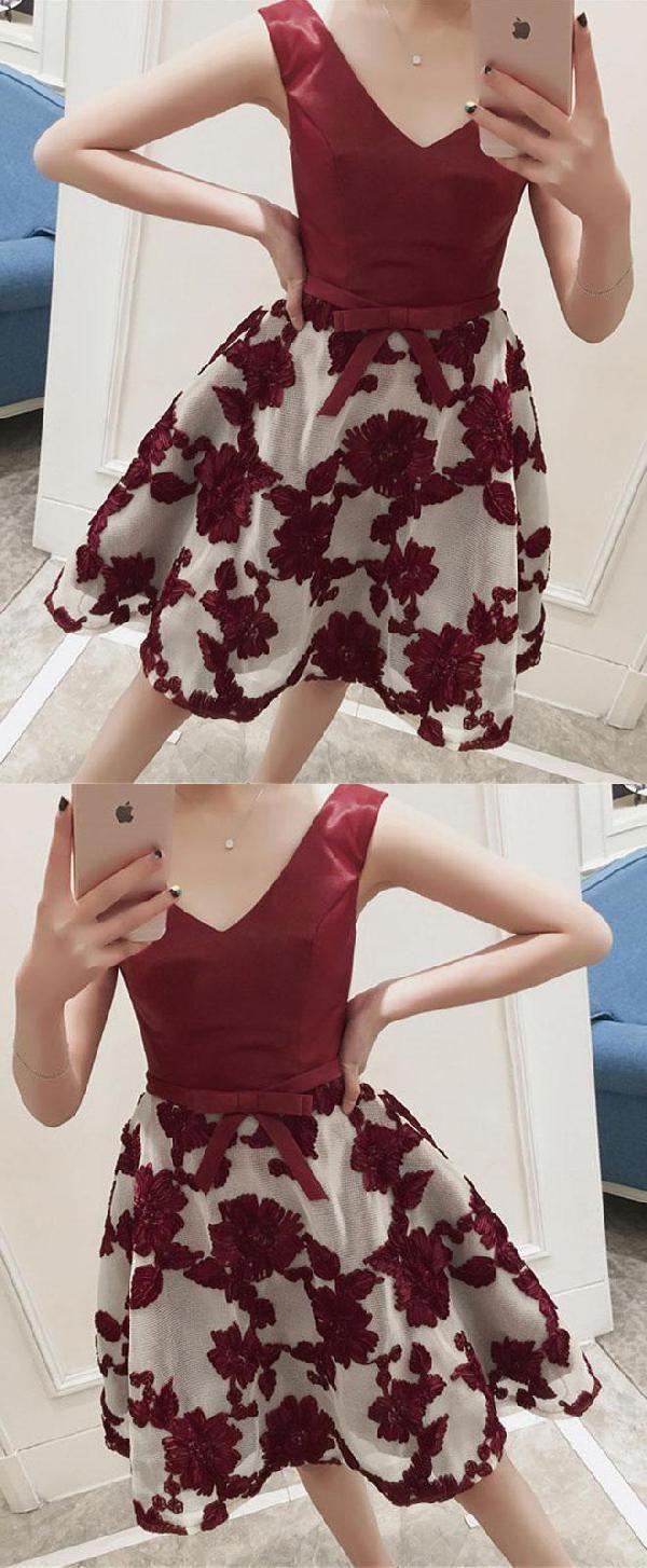 Outstanding short prom dresses aline prom dresses in