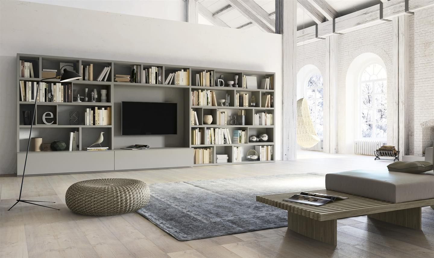 Mobili Alf Da Fre Arredamento Soggiorno E Arredamento Casa Living Room Wall Units Living Room Shelves Modern Living Room Wall