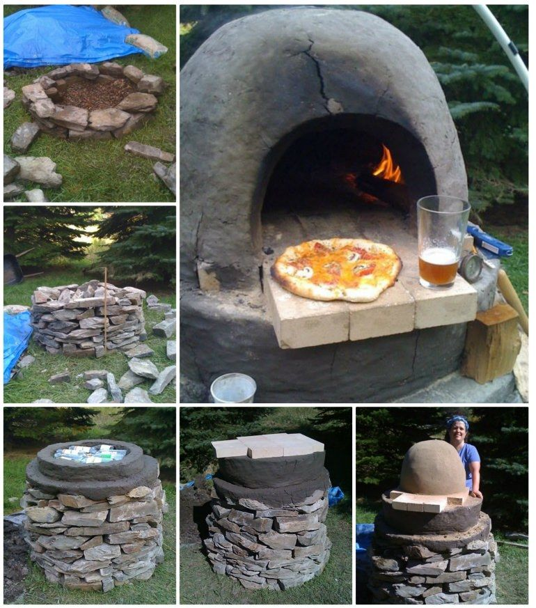 Pizza Oven DIY Brick Instructions Easy Video Tutorial Decking