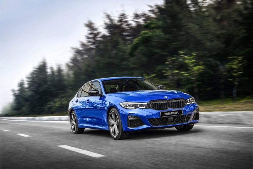 World Premiere Long Wheelbase Bmw 3 Series Debuts In Shanghai In 2020 Bmw Bmw 3 Series Bmw India