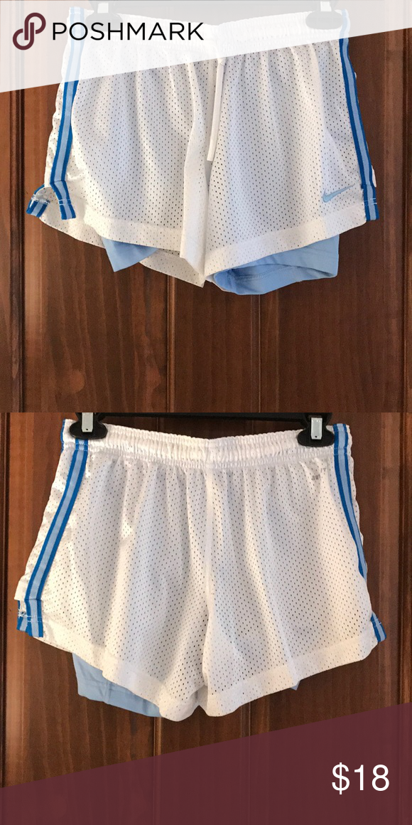 Nike shorts Nike shorts with build in spandex. Dry fit