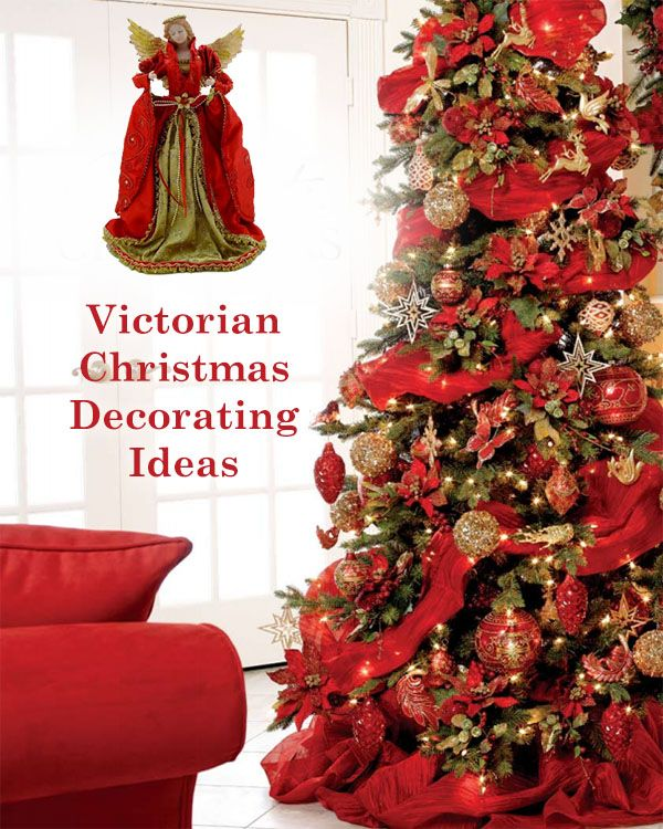 High Quality Victorian Christmas Tree Decorating Ideas