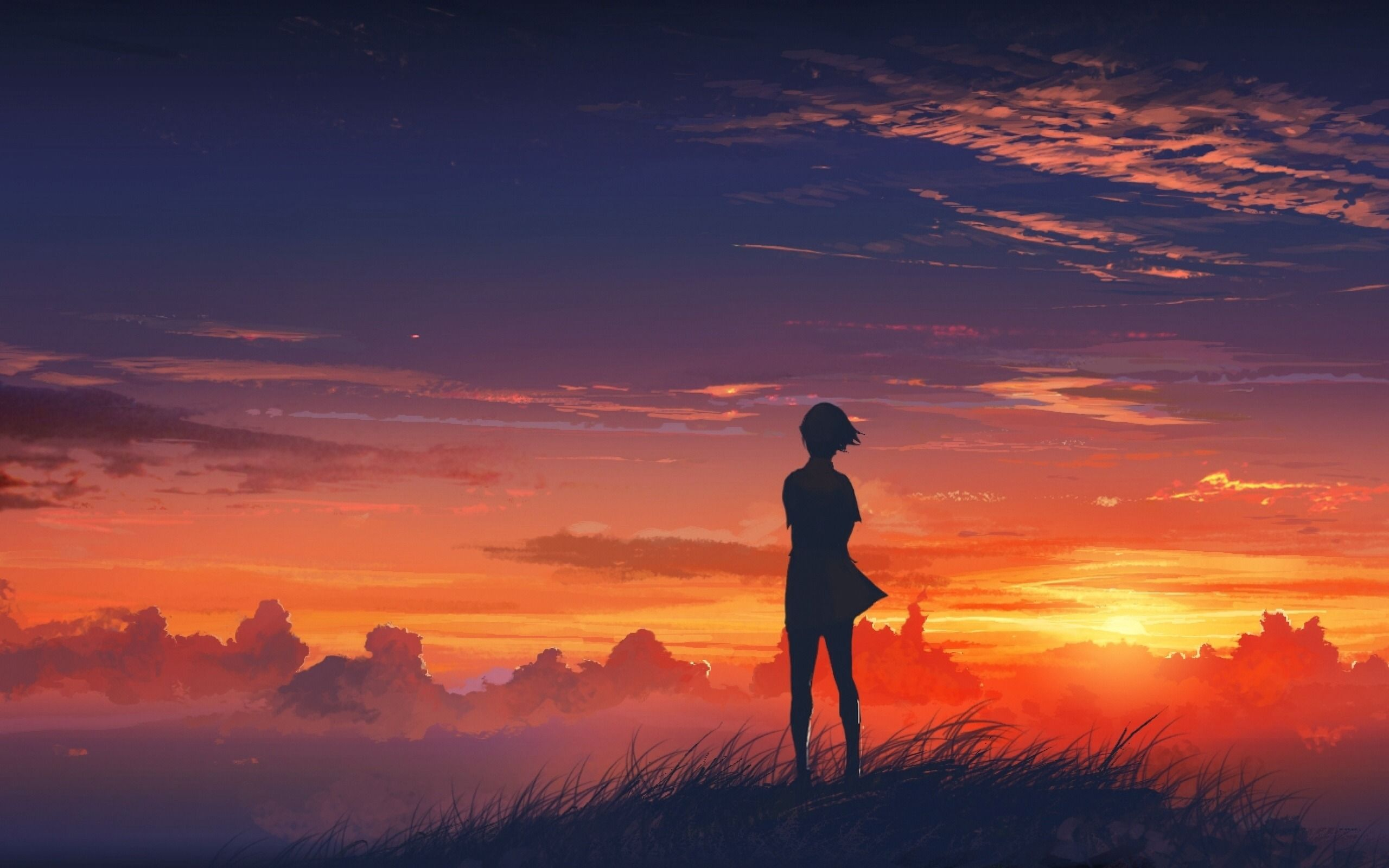 When Your Best Just Isn T Enough Anime Scenery Anime Scenery Wallpaper Sunset Wallpaper