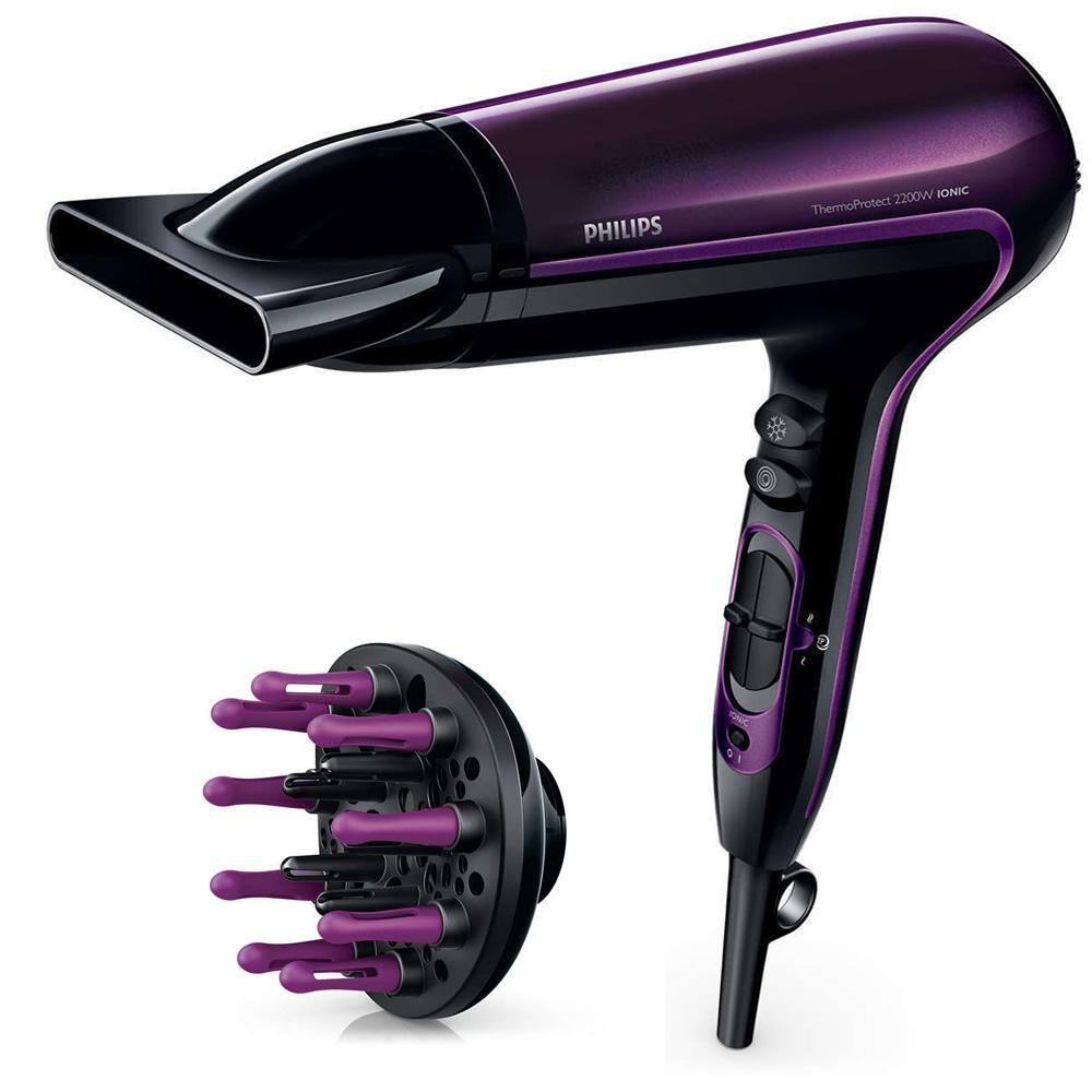 Philips Hp8233 Thermo Protect Hair Dryer 220 240 Volts 50 60hz Export Only Hair Dryer Best Affordable Hair Dryer Hair Dryer Brands