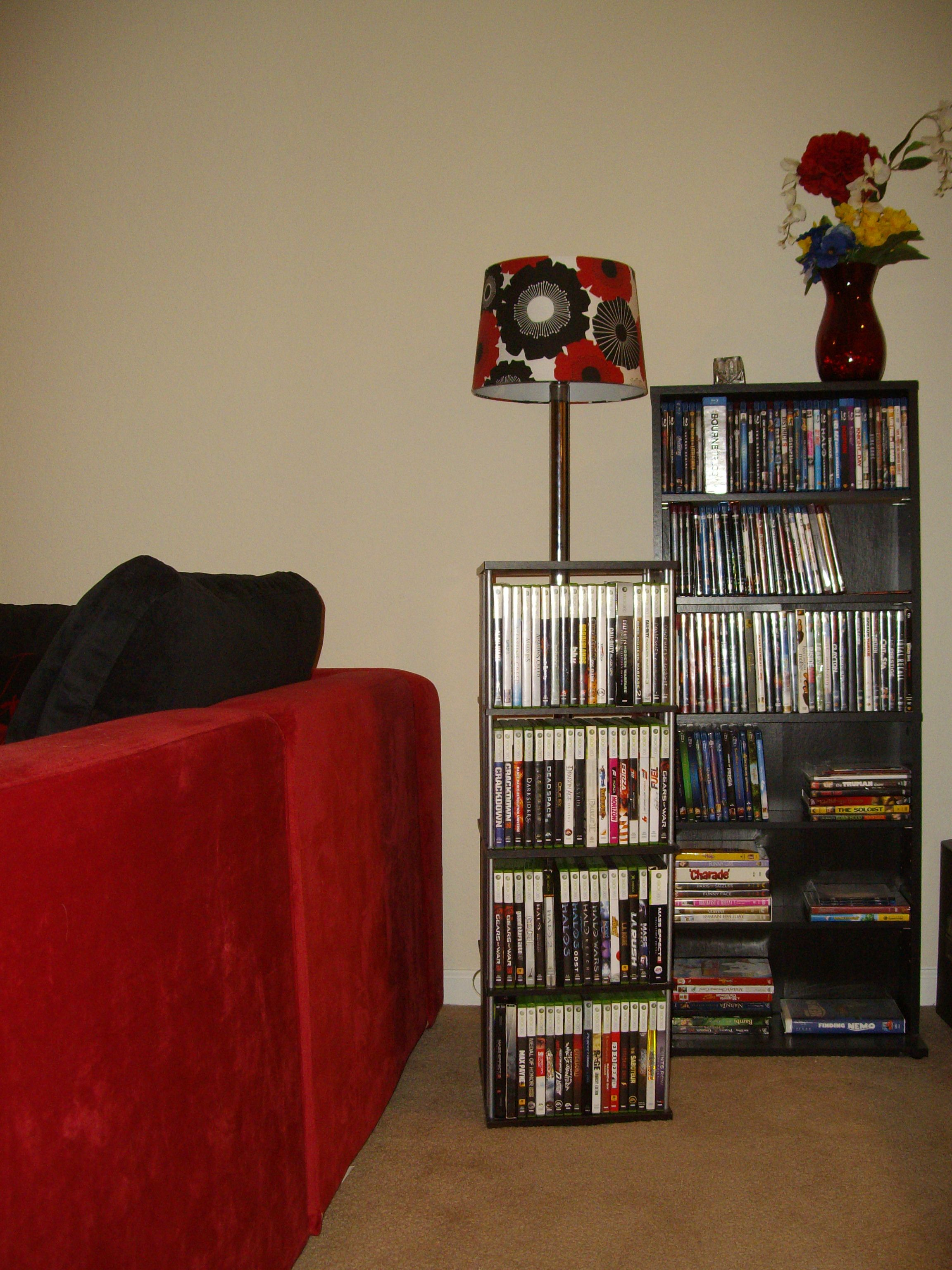 Atlantic Typhoon DVD Or Blu Ray Or Games Spinner, Sauders Beginnings  Multimedia Storage Tower