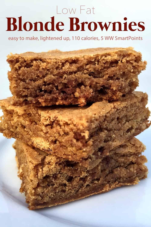Easy Blonde Brownies Recipe Blonde Brownies Brownie Recipes