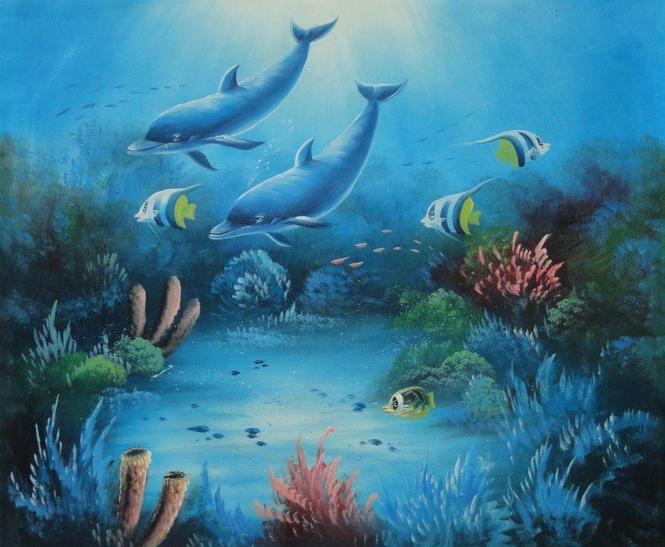 underwater painting easy - 954×785