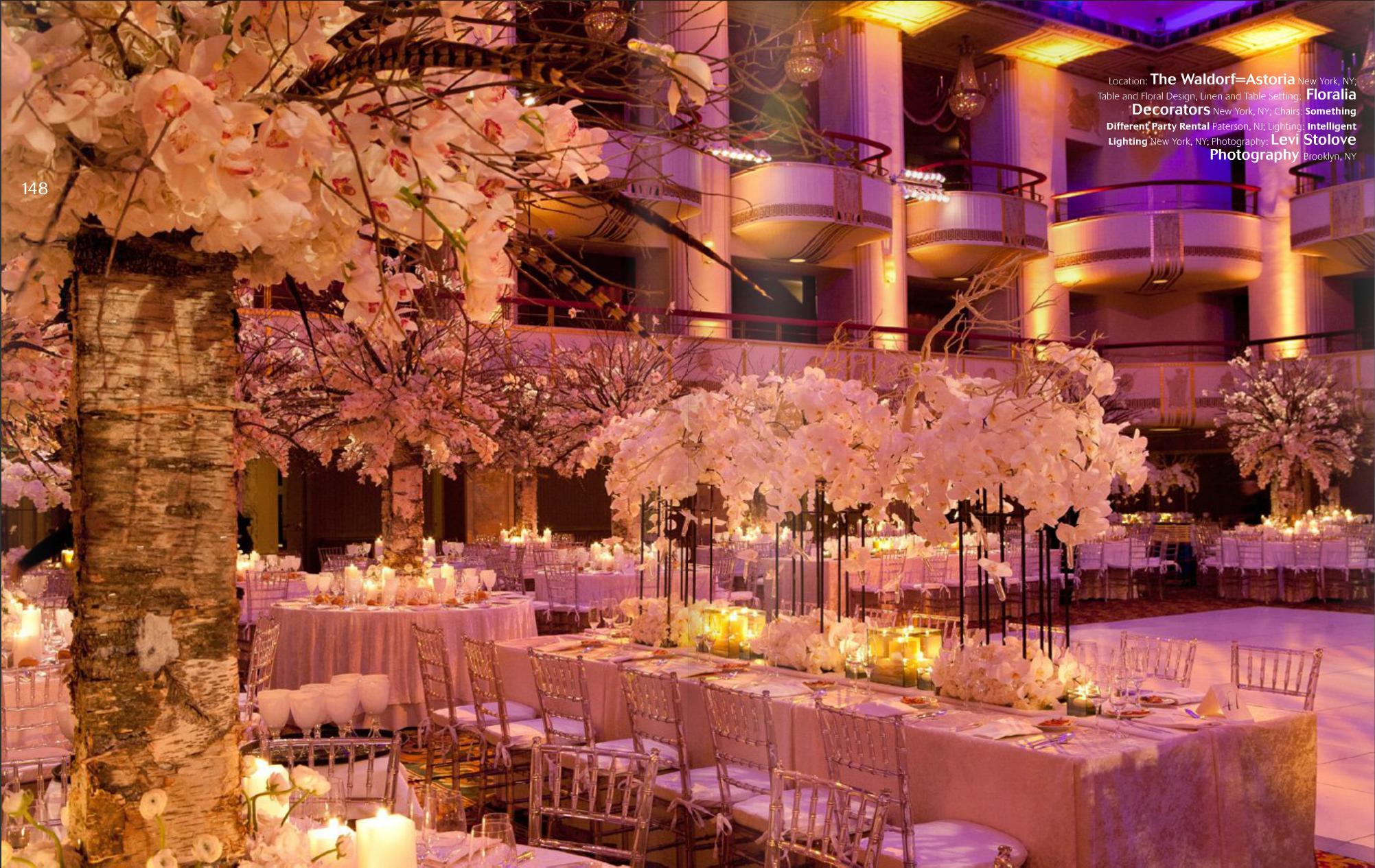 Wedding decoration png images  beautiful Waldorf Astoria wedding reception Sarah Hilton Worldwide