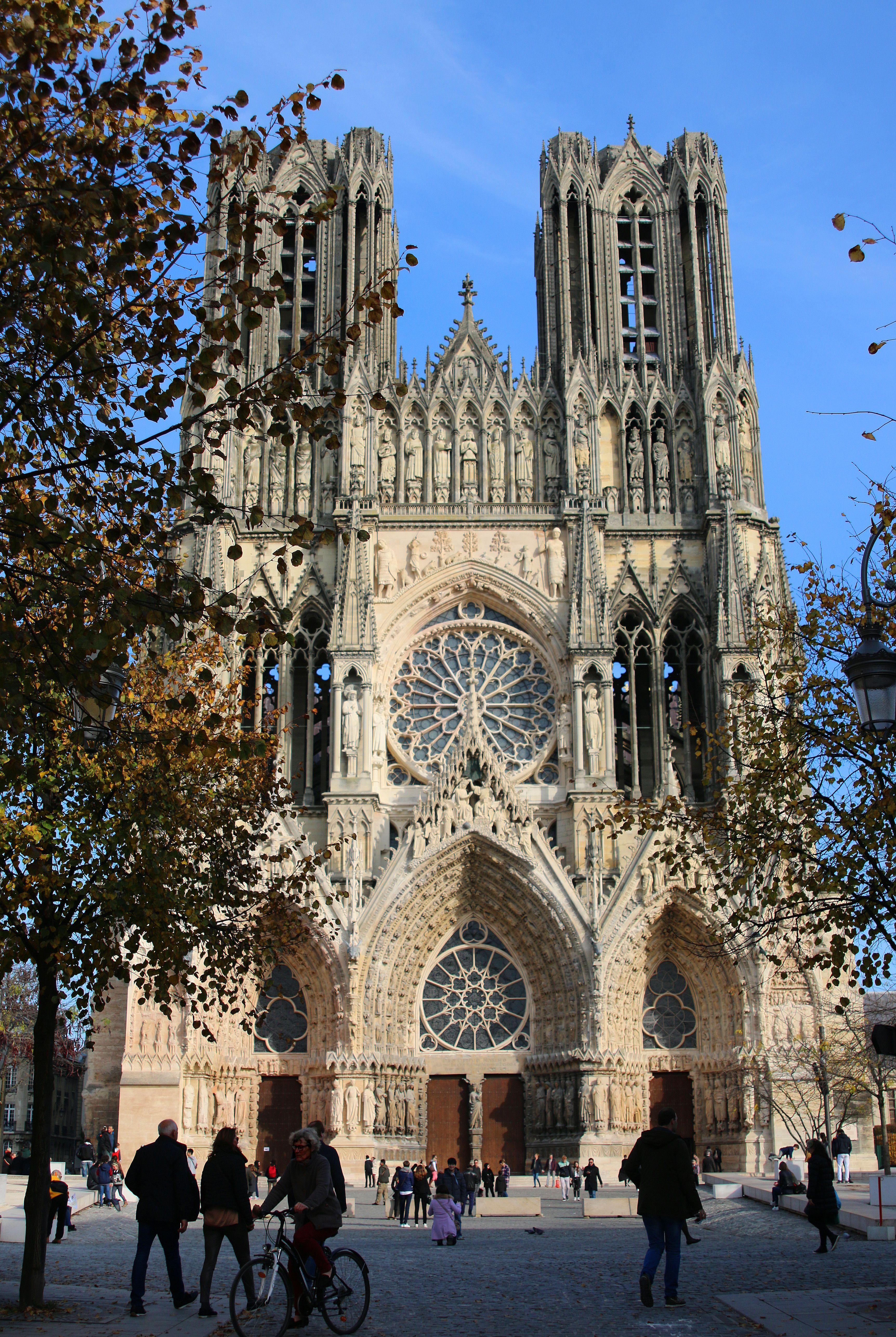 Cathedrale Notre Dame De Reims France C Pauline Colin Otgr Tourisme Cathedrale Reims