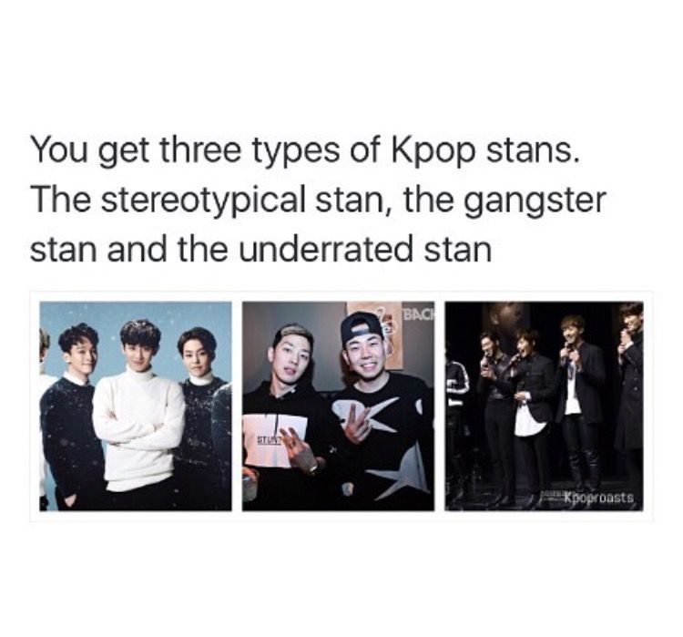 Three Types Of Kpop Stans Drama Memes Kpop Memes