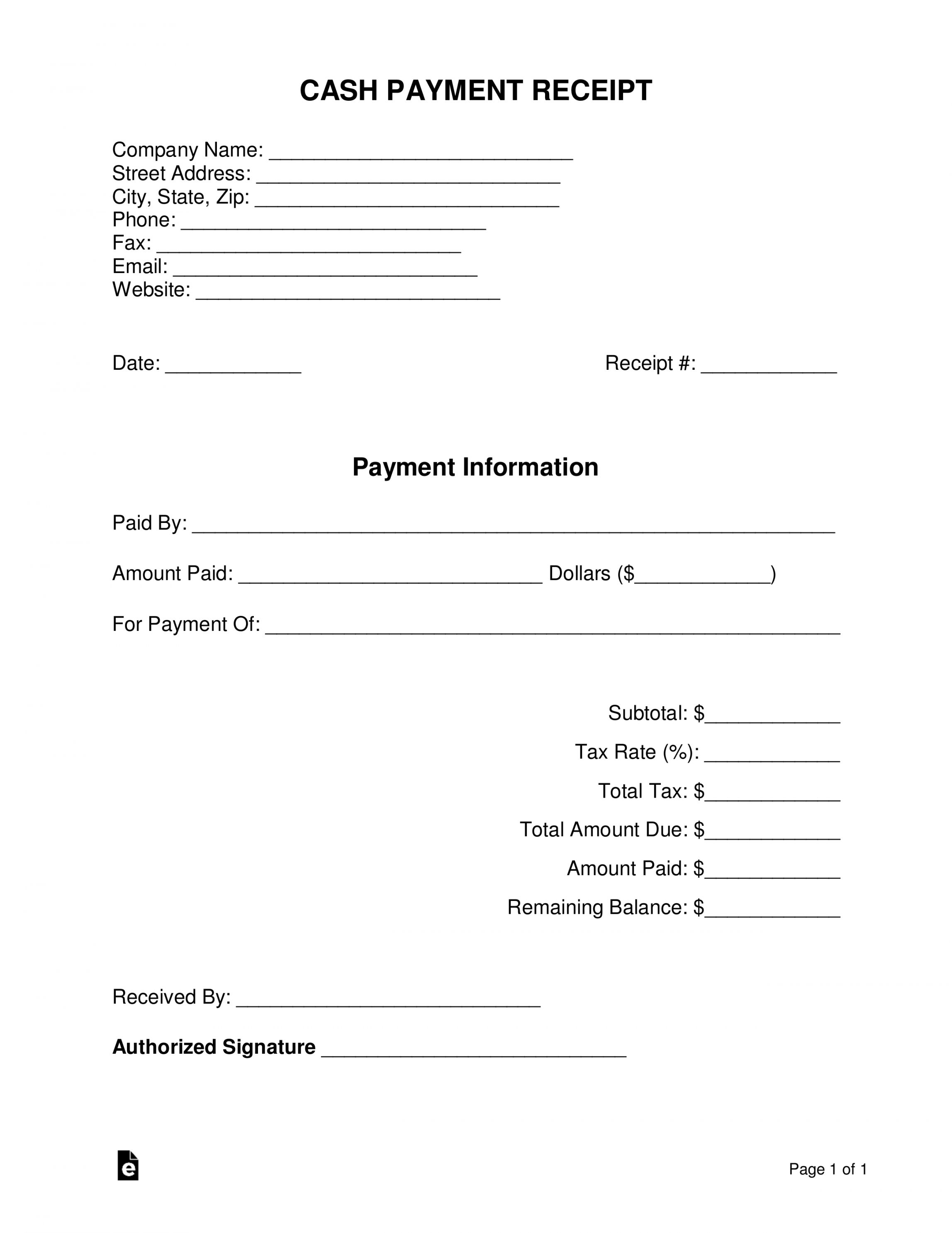 Browse Our Example Of Cash Transaction Receipt Template Receipt Template Invoice Template Spreadsheet Template