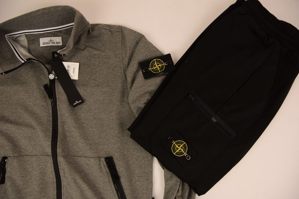 New Stone Island Tracksuit Gray Color Size Xl Fashion Clothing Shoes Accessories Mensclothing Activewear Ad Ebay Link Zip Jackets Jackets Tracksuit