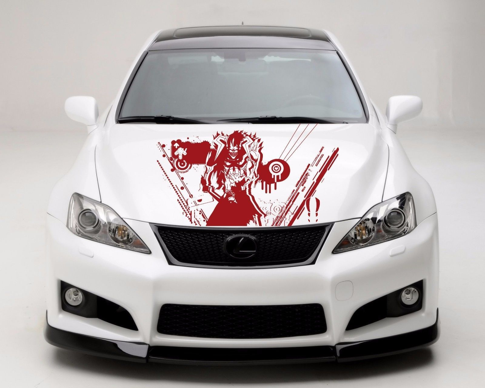 Anime Car Decal Car Decal Car Sticker Monster Car Vinyl Anime - Lexus custom vinyl decals for car
