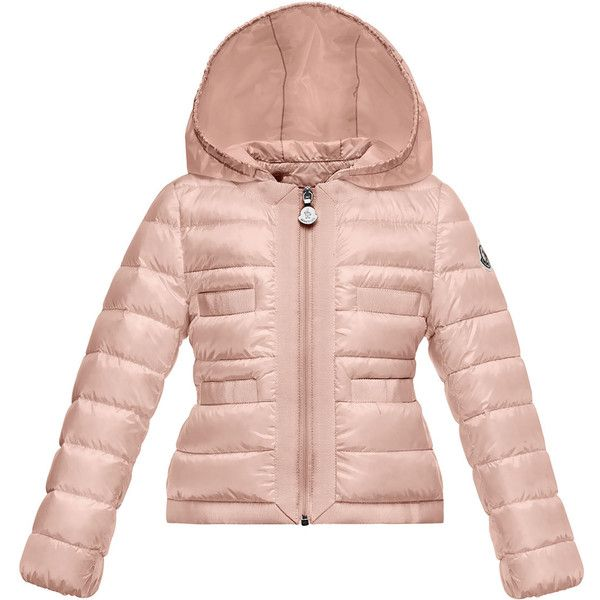 Moncler Alose Hooded Lightweight Down Puffer Coat ( 495) ❤ liked on  Polyvore featuring outerwear 33fe339593a