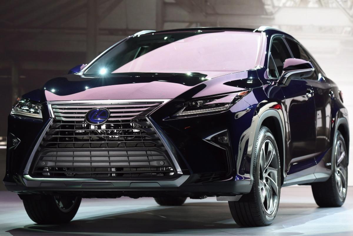 Lexus Rx 350 Và 450 Tham Dự New York Auto Show 2016