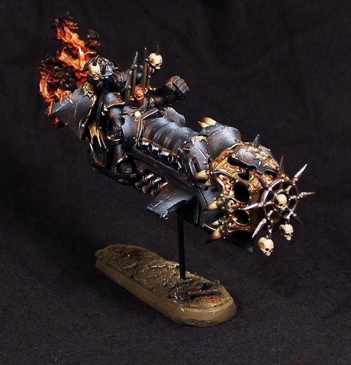 Chaos Legion, Warhammer Models