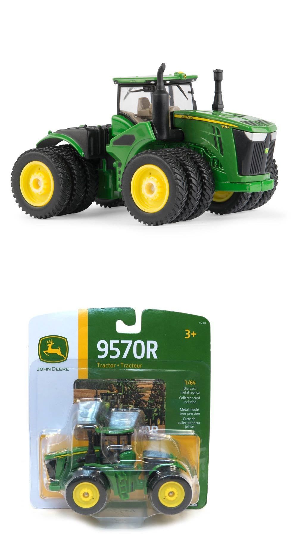 Contemporary Manufacture 156623: 1 64 Ertl John Deere 9570R 4Wd Tractor W  Triples -> BUY IT NOW ONLY: $15.99 on eBay!