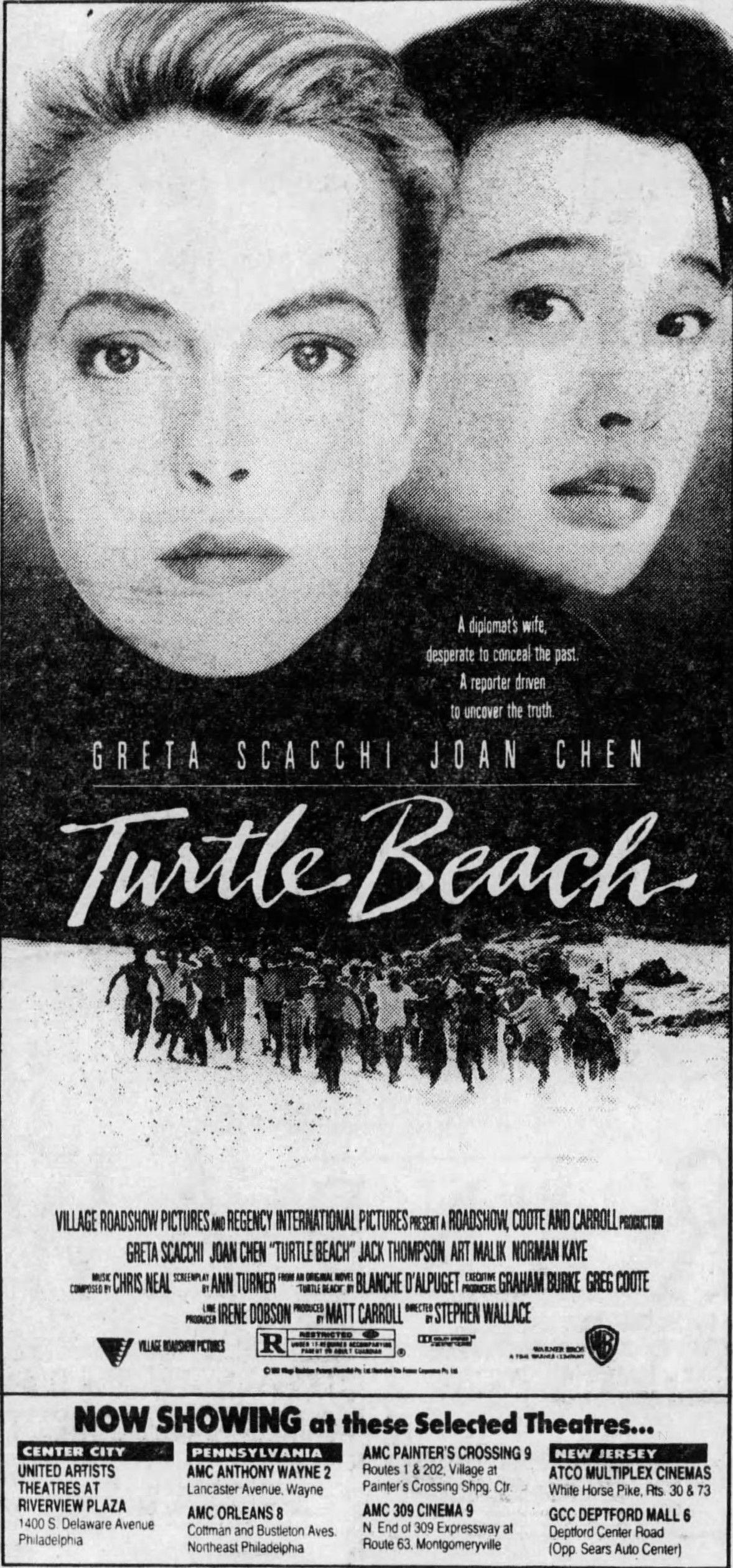 Turtle Beach 1992 Turtle Beach Art Malik Movie Art