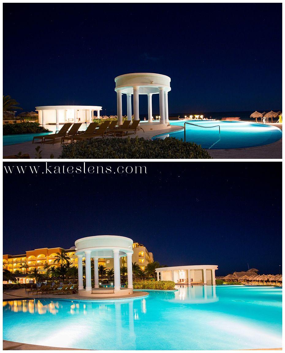 Night photos of resort; Montego Bay Jamaica Destination Wedding at ...