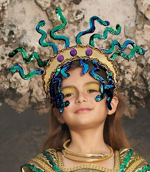 find this pin and more on costumes kids - Medusa Halloween Costume Kids