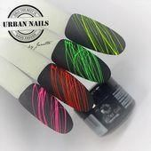 Photo of The Urban Nails Spider Gel Neon Collection offers your nail art a … – ……