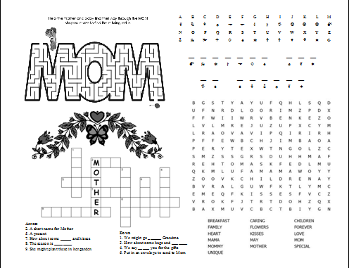 Mother's Day-Activities | mother's day | Pinterest | Mothers and ...