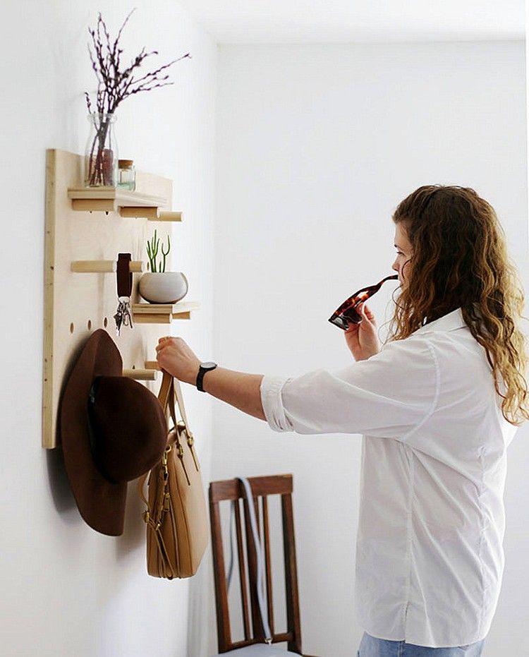 Lochplatten Aus Holz Und Kunststoff Schaffen Mehr Ordnung Zu Hause