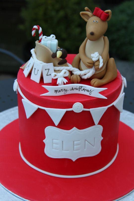 Australian Christmas Cake Decorations Google Search Amazing