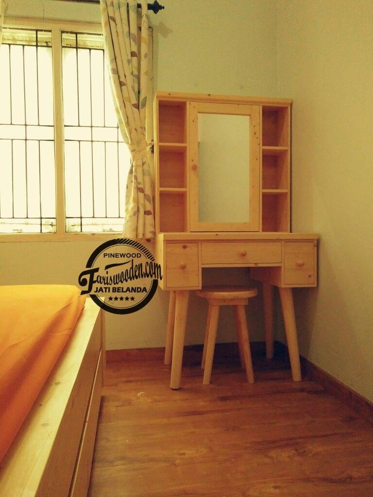 Meja Rias Kayu Jati Belanda Teakwood Furniture Meja