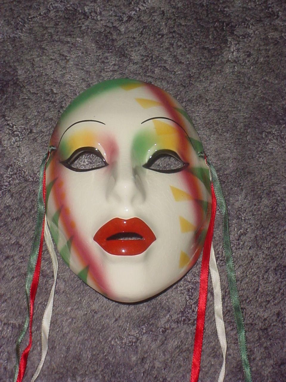 Clay art Mask San Francisco Co. Triangles Clay art
