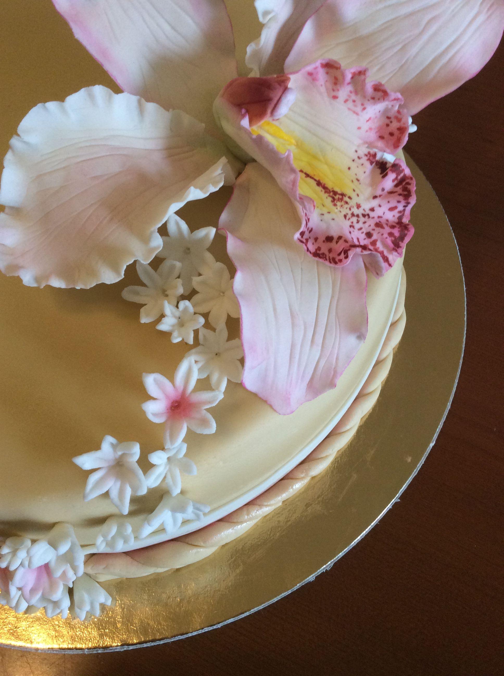 Cattleya cake