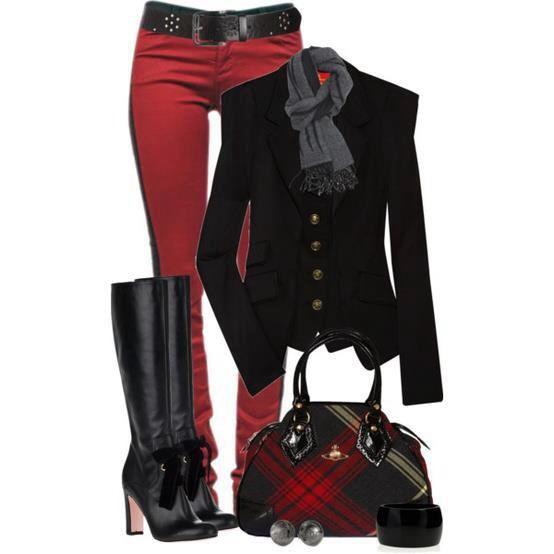 Rojo / negro